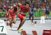 奥运男子4X100接力中国第四 拼搏过不遗憾(图)