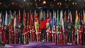 高清:奥运闭幕式隆重上演 马拉松颁奖仪式举行
