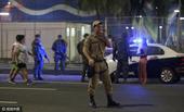 高清图:里约沙排馆外现炸弹 巴军方火速解危