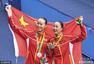 里约11日中国奖牌榜:女乒团体卫冕 跳水再夺冠