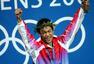 2004雅典奥运会中国男子英雄 刘翔激情怒吼(图)