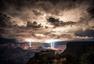 雷雨降临前的天空奇景