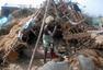 印度遭台风袭击 百万人紧急疏散