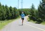 组图:H2C中国赛精彩瞬间 跑友奔跑在草原天路