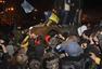 乌克兰国内最大列宁纪念碑遭拆毁