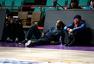 组图:京辽球员训练场互相致意 究竟谁是卧底?