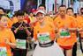 组图:2017重庆马拉松赛完赛! 众跑友激情开跑
