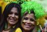 高清图:东道主巴西连败 少数美女球迷不离不弃