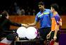 印度选手因伤退赛 与方博打一球后握手离开(图)