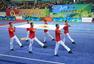 高清:全国武术运动大会开幕 传统武术表演炫目
