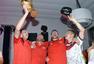 高清图:德国庆夺冠办聚会狂欢 格策拥绝美女友
