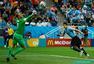世界杯球星精彩表现:梅西一对三 门神表现抢眼