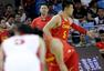 高清图:男篮红队迎战伊朗 邹雨宸归队强攻内线