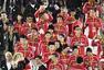 组图:闭幕式中国代表团入场 女排姑娘合影丁宁