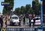 法国香榭丽舍大道一汽车冲撞警车后爆炸
