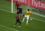 进球回放:蒂亚戈席尔瓦后点捡漏 巴西率先进球