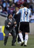 北京时间6月17日19点30分,第19届南非世界杯B组小组赛进入第二轮争夺。阿根廷队在约翰内斯堡足球...