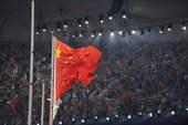 """8月24日晚,第29届夏季奥林匹克运动会闭幕式在北京国家体育场――""""鸟巢""""举行。"""