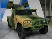 国产装备地空导弹与防空导弹的车辆