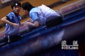 """""""塘桥""""杯全国乒乓球锦标赛第五日精选。(摄影/李琳琳)"""