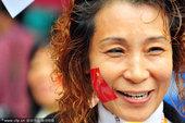 2010年11月5日,广州,2010亚运火炬传递,广州12区分火仪式举行。