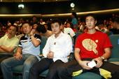 9月10日,国乒在上海举办庆功会,男乒三虎和女乒三杰系数出场。(大卫/Osports.cn)