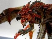 怪物猎人D.M.A 飞炎的苍火龙手办