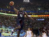 8月24日,男篮冠亚军决赛在北京奥林匹克篮球馆进行,美国VS西班牙。
