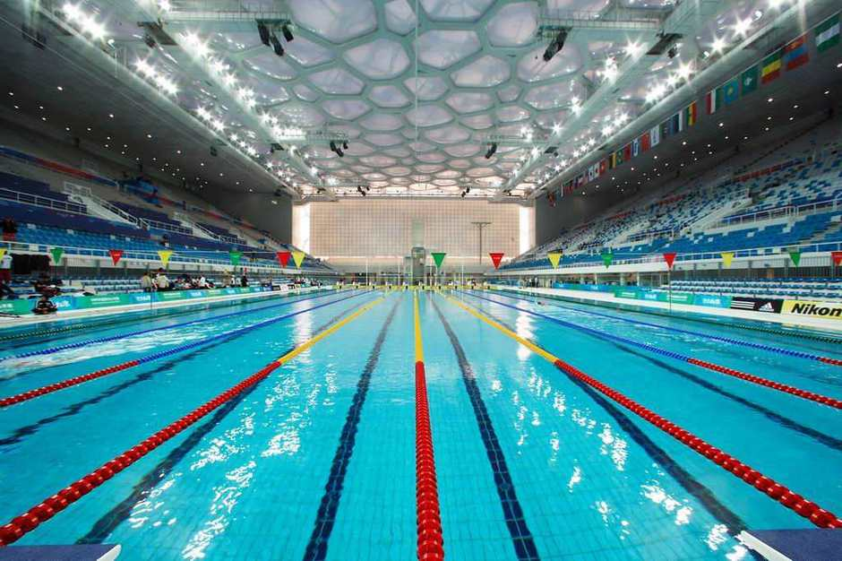 Inside The Aquatics Center